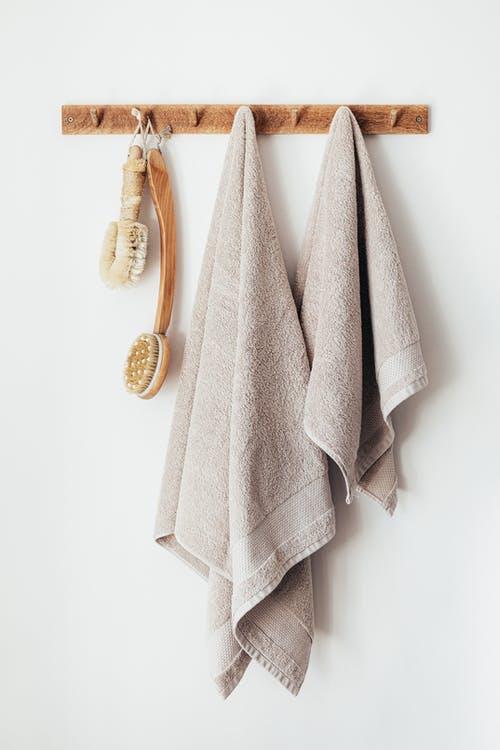 Håndklæder på badeværelset