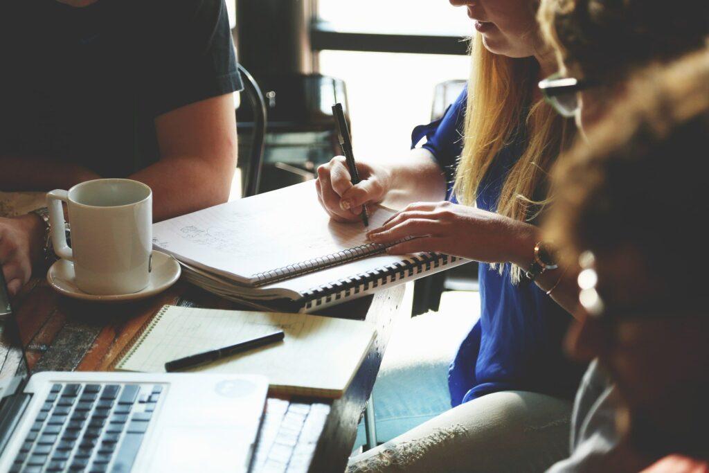 arbejde, møde, kollegaer, medarbejdere, planlægning