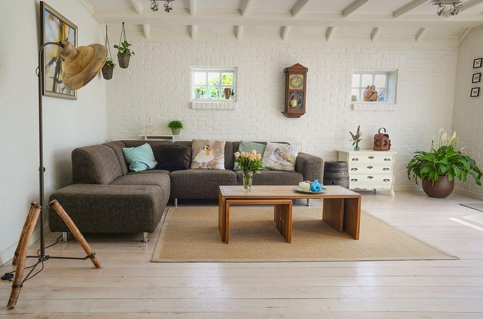 indretning, design, interiør, stue, sofabord